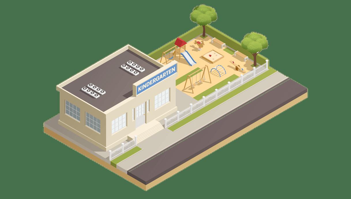 Kindergarten-bild
