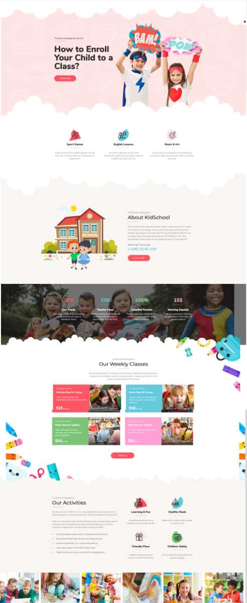 website kita kindergarten haidig ohg